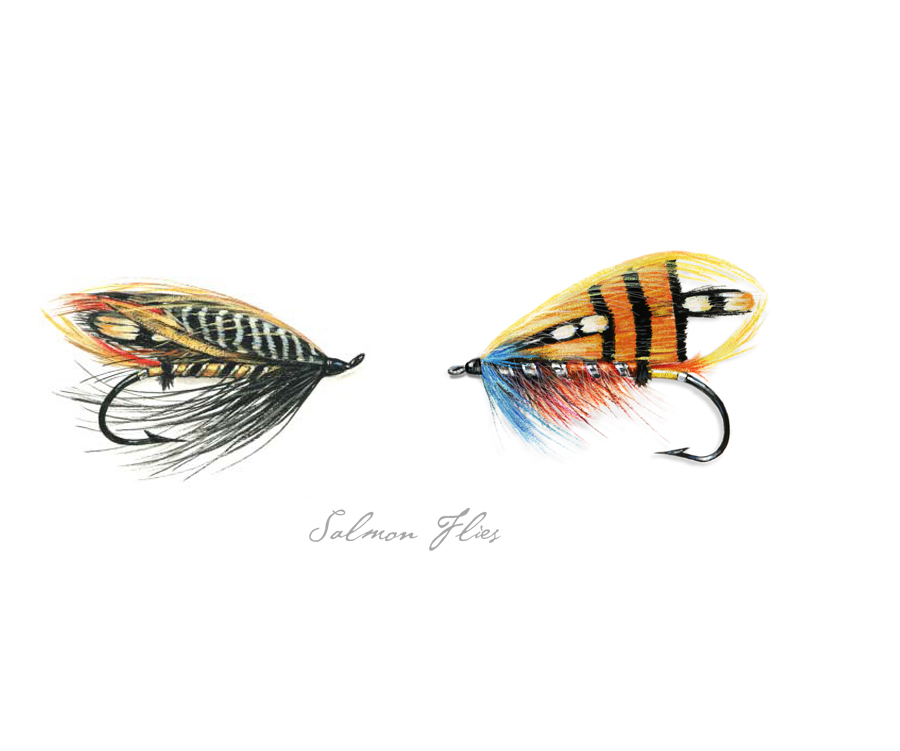 Traditional Salmon Flies