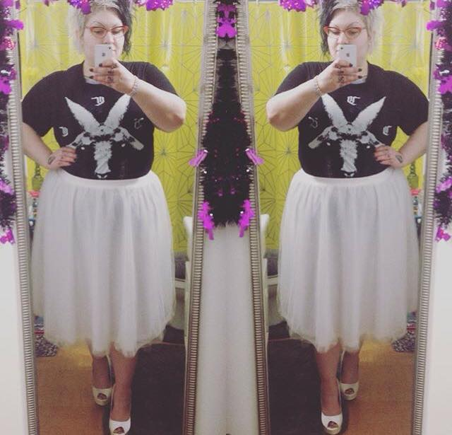 Tulle skirt from Charlotte Russe
