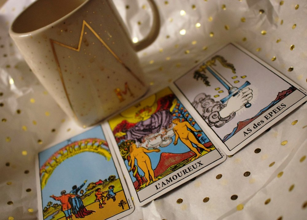 My December Tarot reading