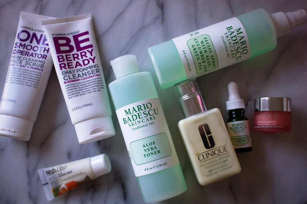 My everyday skincare staples!