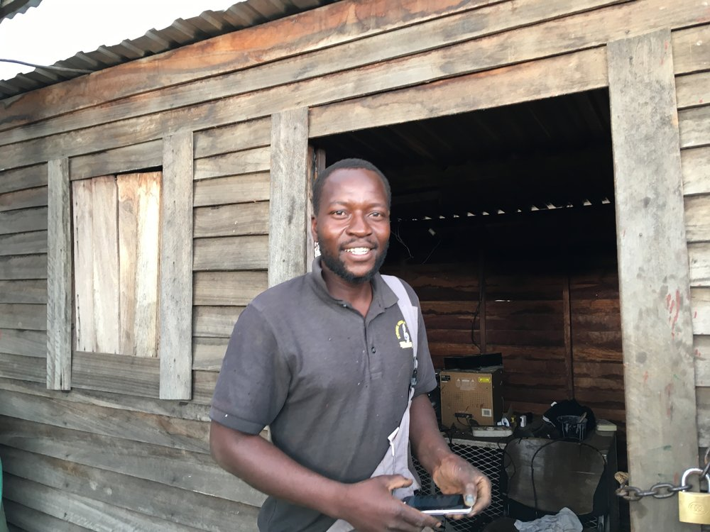 Meet Maforo - Maforo is our local welder in Zimbabwe, who builds our squat and bench racks. We believe its important to support locally and create livelihood opportunities.
