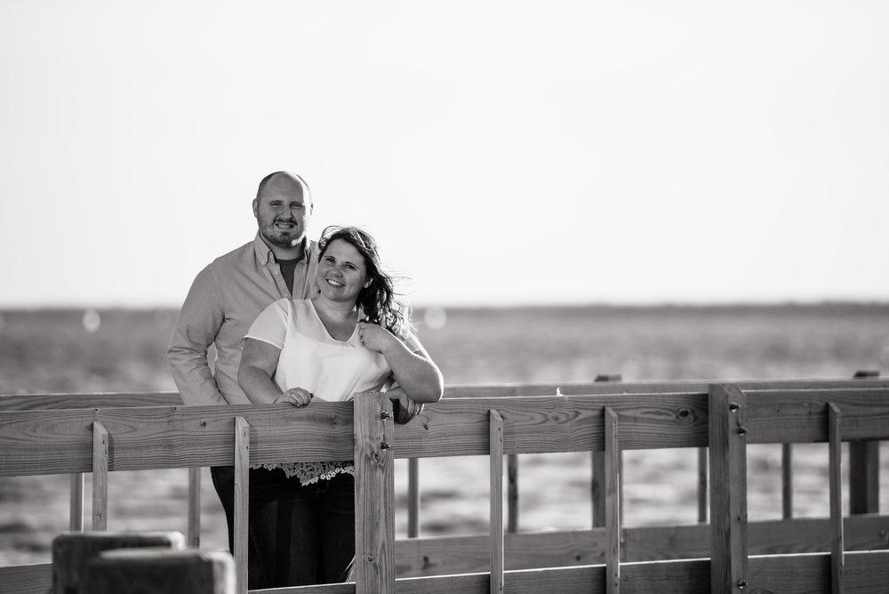 Seaside, NJ Boardwalk & Beach Engagement Photos Jake & Jessica 9
