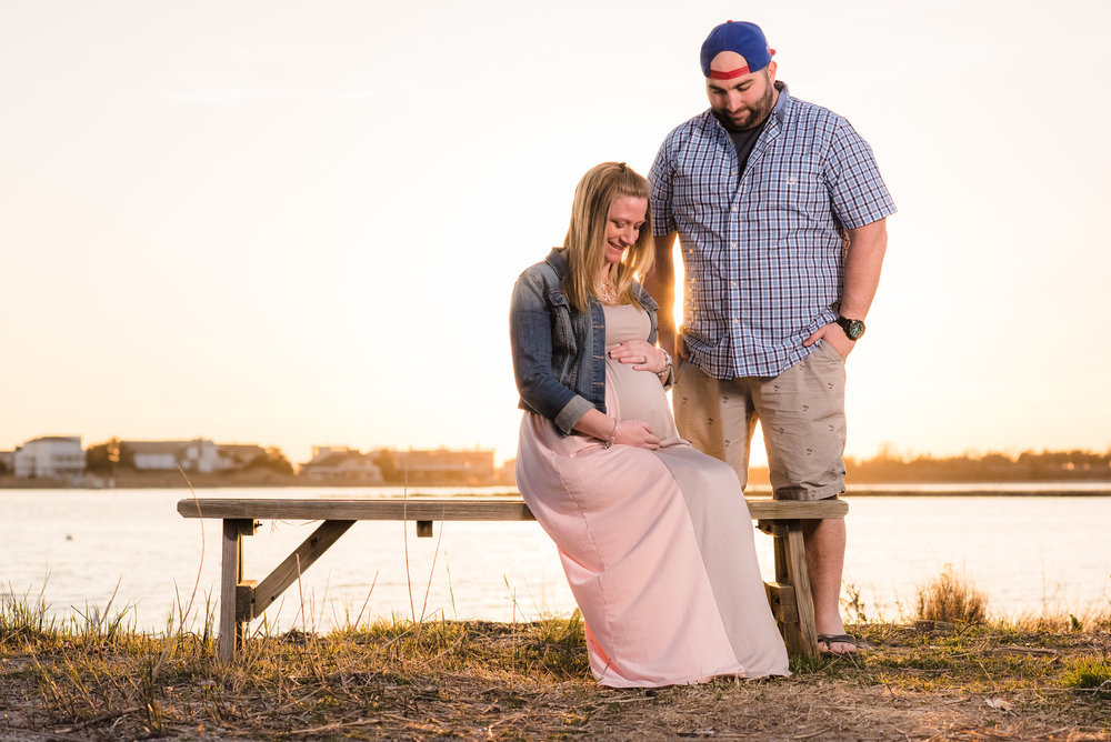 Long Beach Island Maternity Photos Liz 4