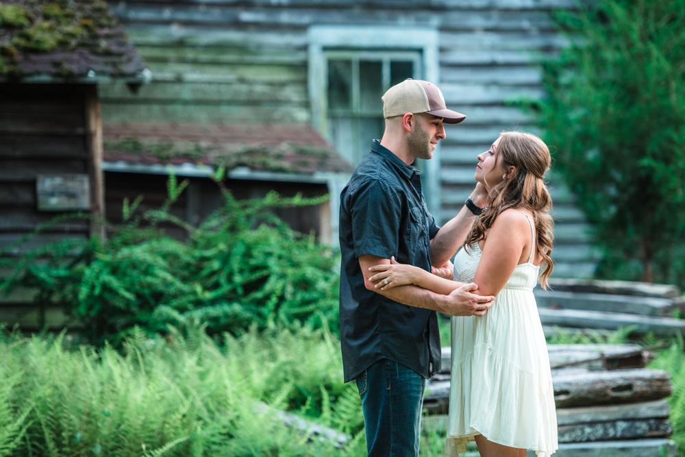 Batsto NJ Rustic Style Engagement Kyle & Erin 2