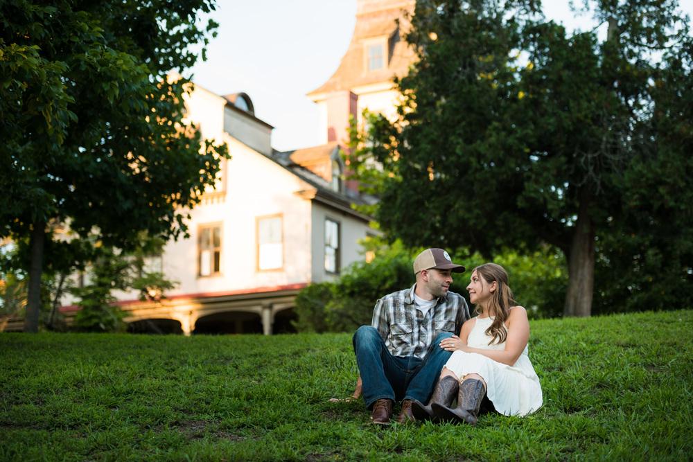 Batsto NJ Rustic Style Engagement Kyle & Erin 10