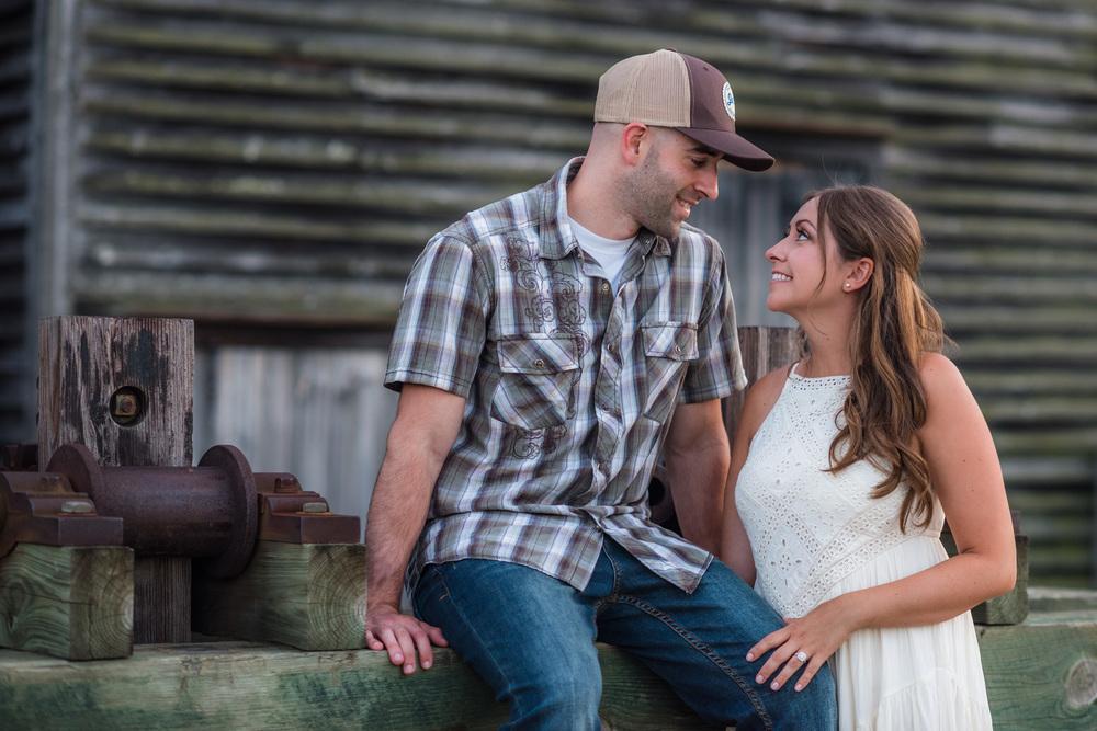 Batsto NJ Rustic Style Engagement Kyle & Erin 11