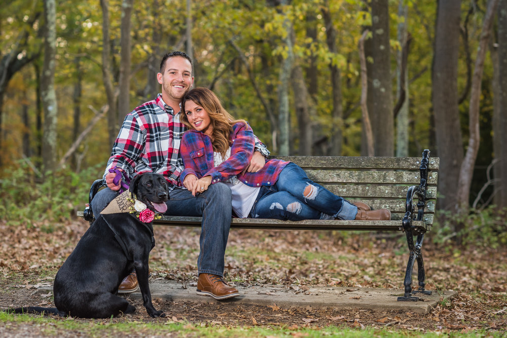 Allaire State Park NJ Engagement Session Chris & Deanna 2