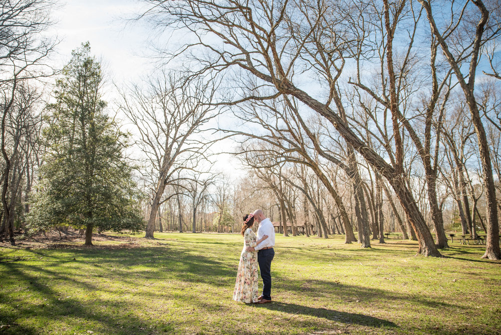 Allaire State Park Maternity Photo, Kristen 1