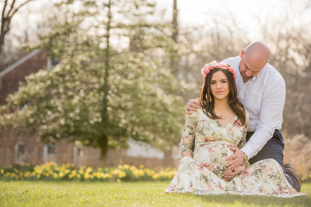 Allaire State Park Maternity Photo, Kristen 17