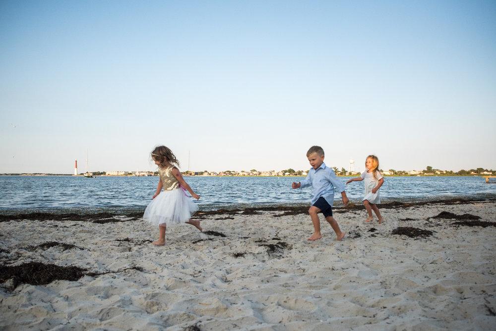 Long Beach Island Photos, The Thurber Family 5