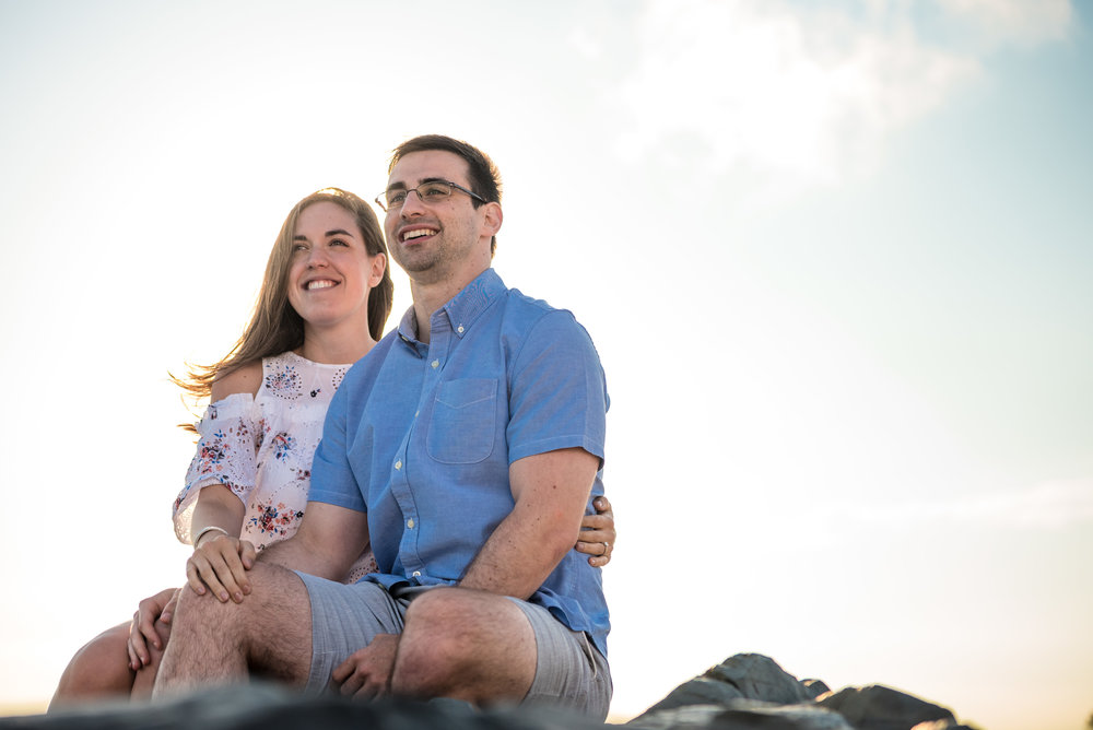 Manasquan Beach Engagement Photos Maria 2