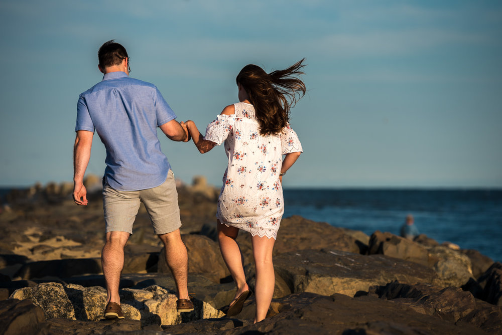 Manasquan Beach Engagement Photos Maria 3