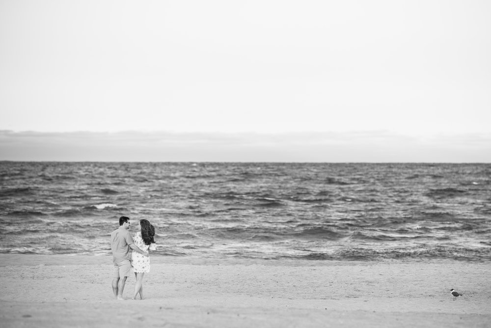 Manasquan Beach Engagement Photos Maria 7