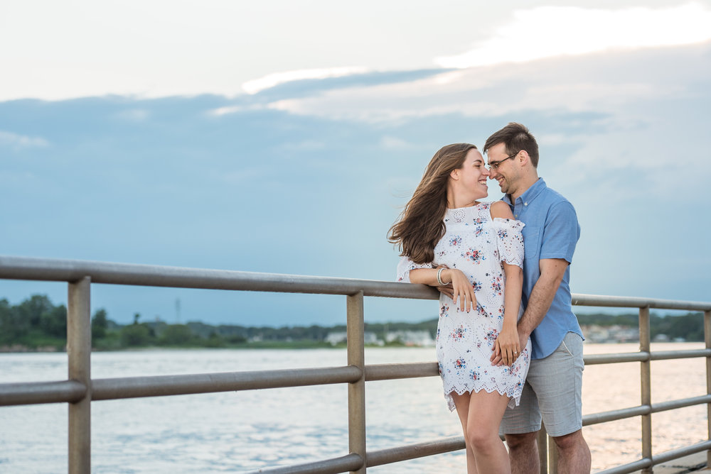 Manasquan Beach Engagement Photos Maria 9
