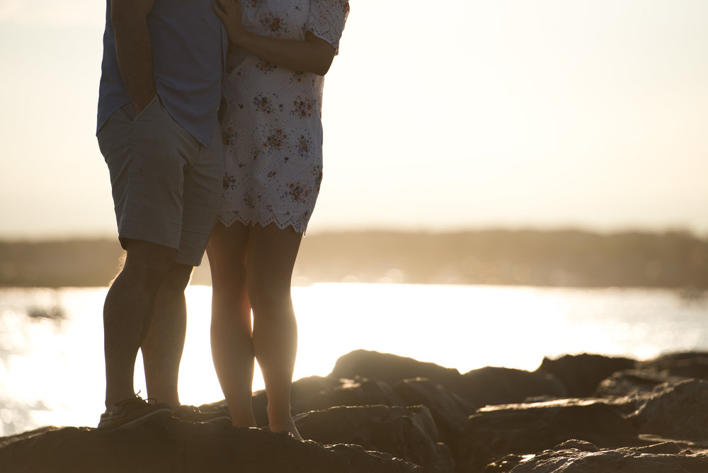 Manasquan Beach Engagement Photos Maria 16