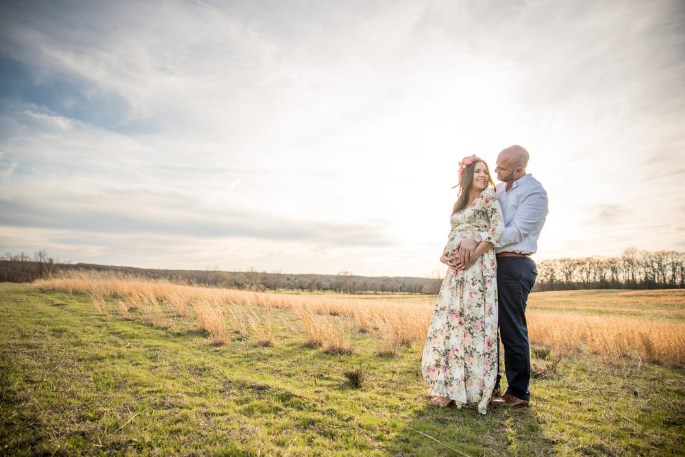 Allaire State Park Engagement Photos Sunset Engagement Maternity