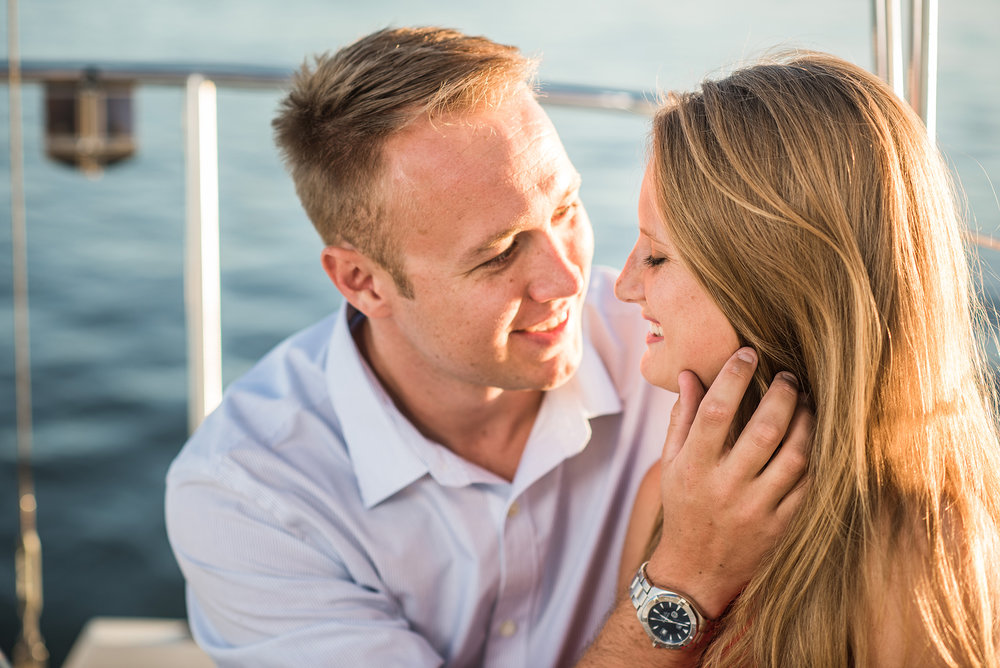 Brant Beach Yacht Club Engagement Photos
