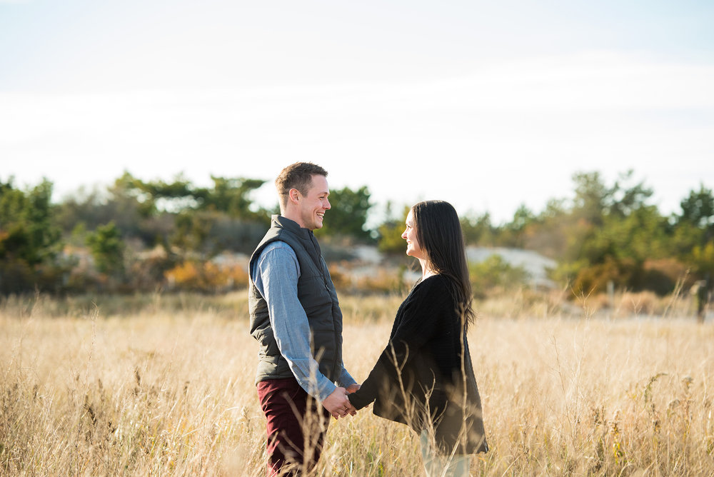 Barnegat Light Engagement Photos