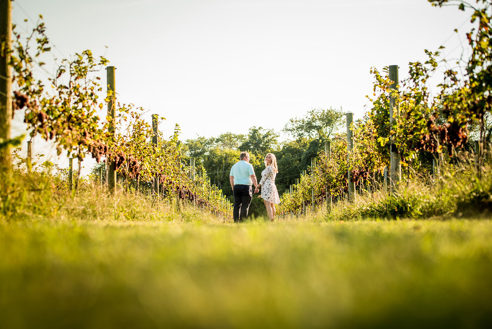 Willow Creek Winery Cape May NJ Engagement Photos