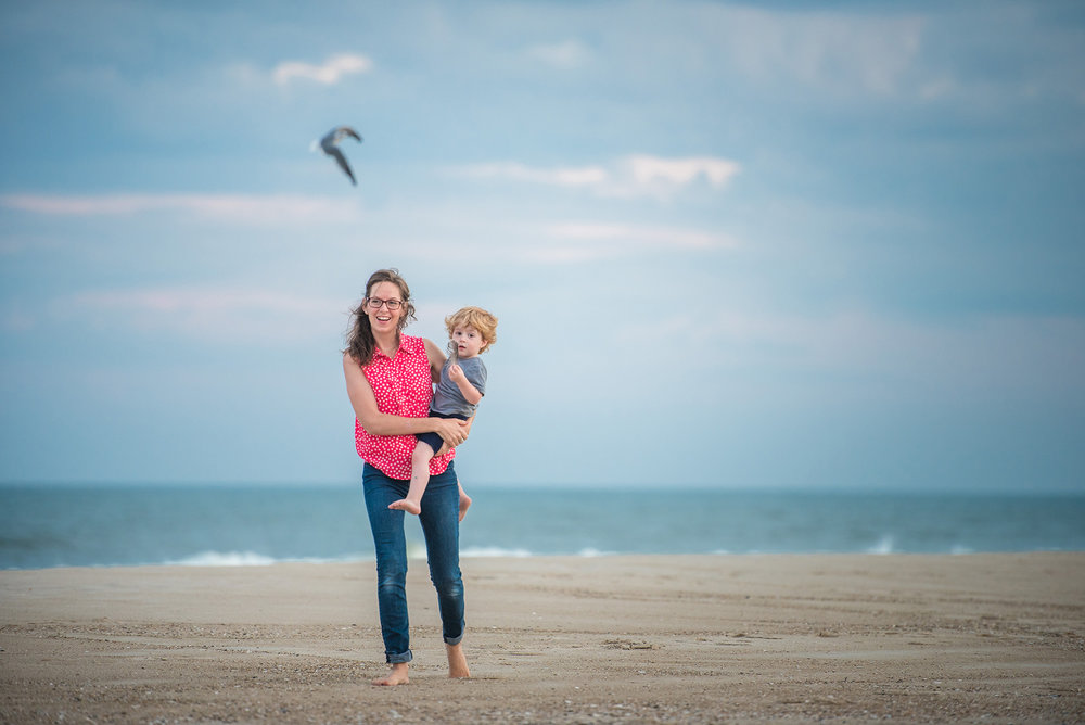 Surf City Long Beach Island Family Photographer