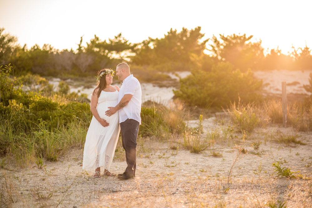 Barnegat Light Maternity Photos