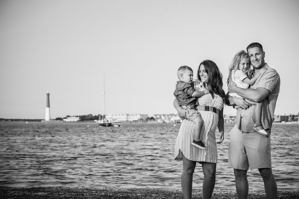 High Bar Harbor Long Beach Island Family Portraits