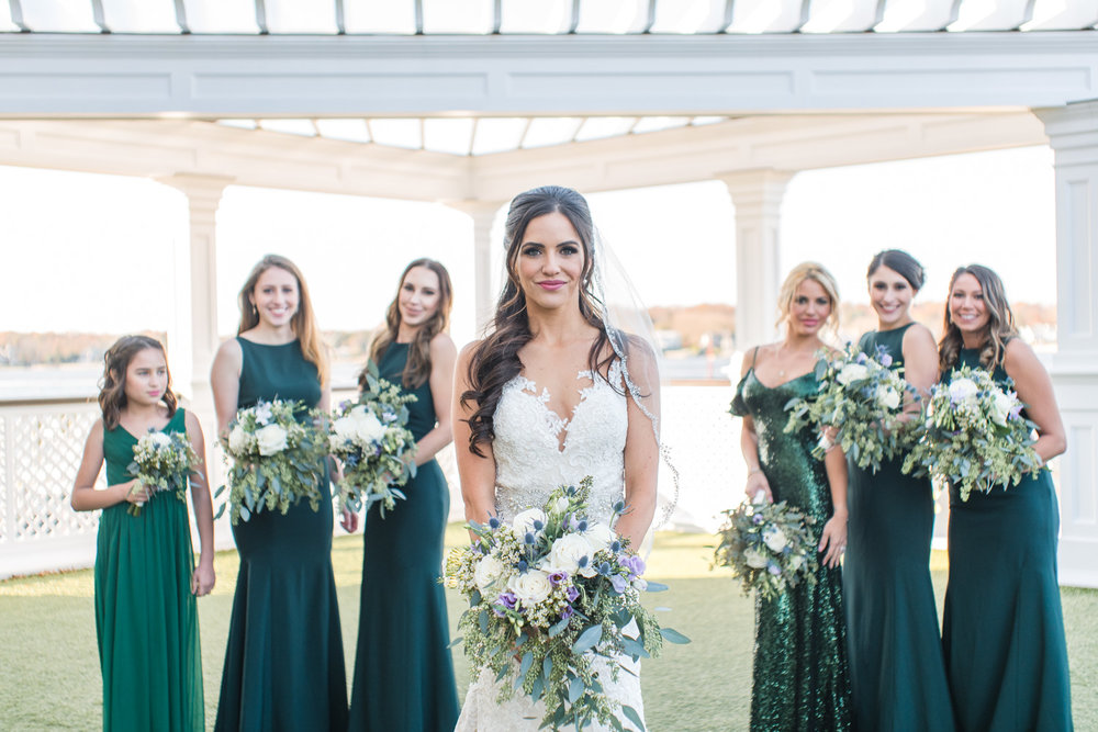 Clarks Landing Yacht Club Bridesmaids Photos