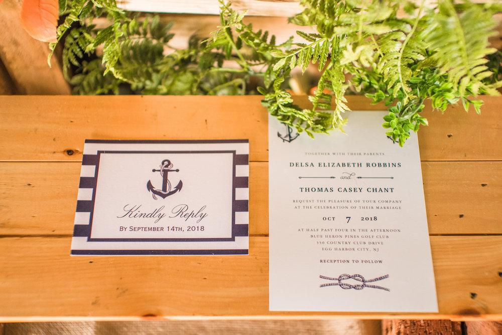 NJ Wedding Stationary