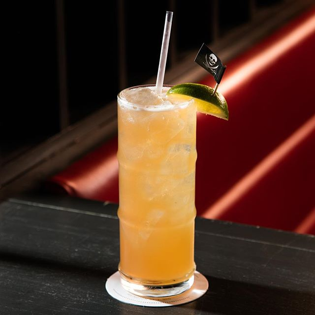 The only time to drink this rum/fireball/radler cocktail at #151nyc is 7pm-2am nightly. But time is an illusion and the life projected before you is but a cruel joke. You're neither here, nor there. You are nowhere.  But we're here ...#drinkat151 #151nyc.