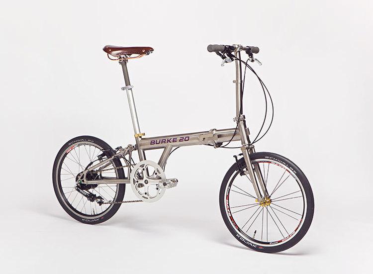 Burke Folding Bike : un nouveau pliable en titane ?format=750w