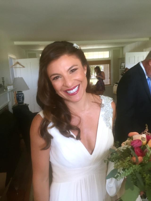 On Her Wedding Day  / Photo Courtesy Of Vanessa
