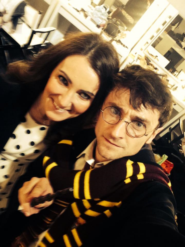 With A Harry Potter Lookalike In Austria / Photo Courtesy Of Heidi Agan