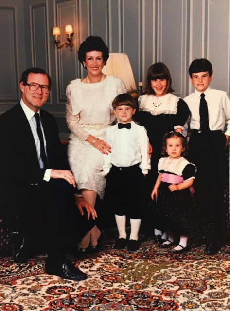 Lydia with her family circa 1986 / Photo Courtesy Lydia Fenet