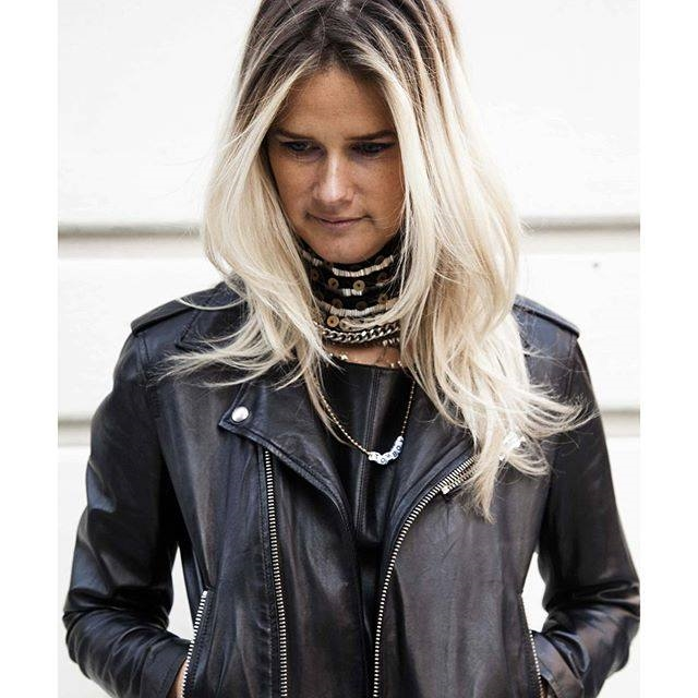 "A look from Mignonne's ""Holiday Series"" wearing the Layne Choker on the streets of Tribeca / Photo courtesy Colby Blount"