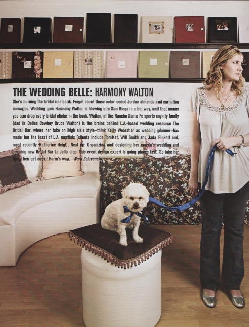 Article featured in 'Angeleno Magazine' and 'Riviera Interiors' / Photo Courtesy Harmony Walton