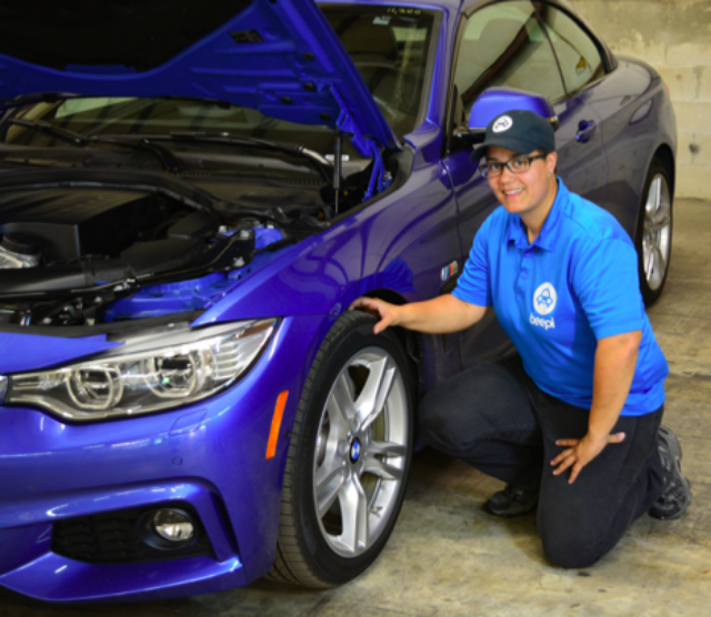 Jocelyn Rivera leads a team of inspectors across Beepi's East Coast operations, including New York, Washington DC, Tampa and Miami / Photo Courtesy Beepi.
