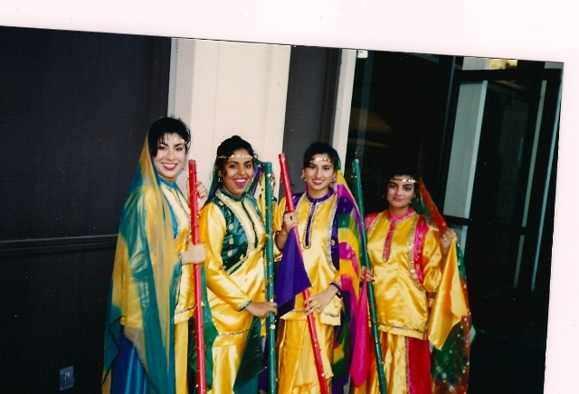 """Sarina's Bhangra team back in the day. They were known as Dhamaka, which means impact."" / Photo Courtesy Sarina Jain"