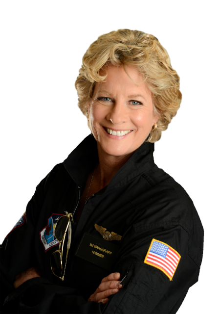 MJ MARGGRAFF, STAY-AT-HOME MOM TURNED PILOT