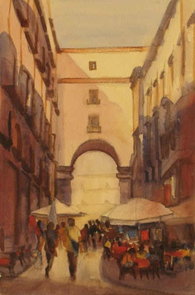 Entry in Madrid