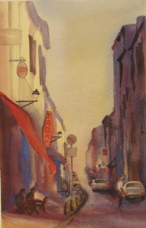 Euro street experiment