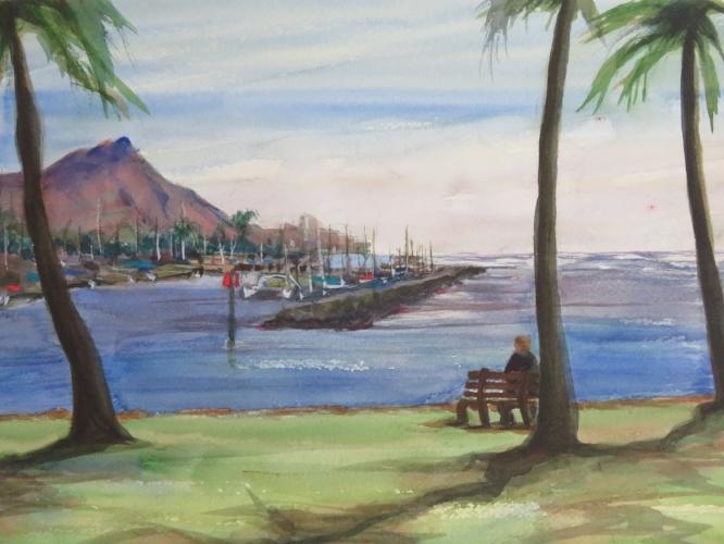 Magic Island View