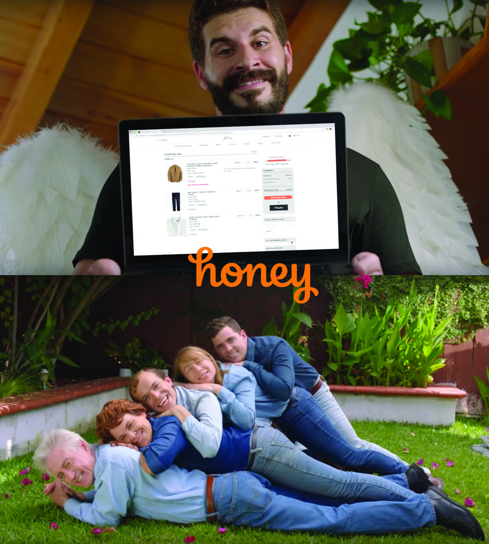 HONEY (2018/2019) - (TV Advertising Spots/ Comerciales para TV)Credit: 1st Assistant DirectorGenre: Comedy/AdvertisingDirected by Mario GarzaSynopsis:Eleven comedic advertising spots for TV.Country: USA