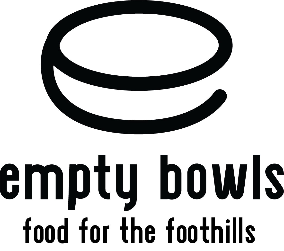 Empty Bowls Food in the Foothills
