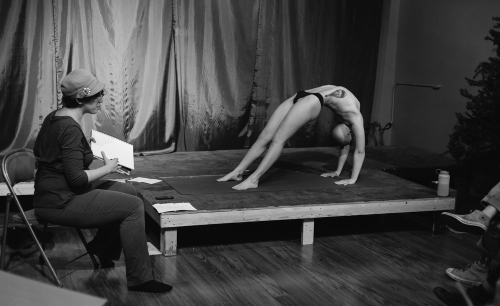 Lindsay Kramer   : Movement & Figure Drawing