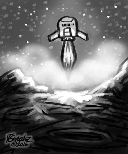 space bones comic