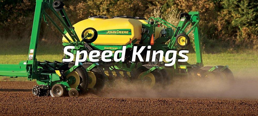 John Deere's high-speed ExactEmerge planter.