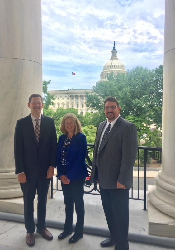 Todd Janzen (Janzen Ag Law), Deb Casurella (Independant data management), Billy Tiller (GISC).