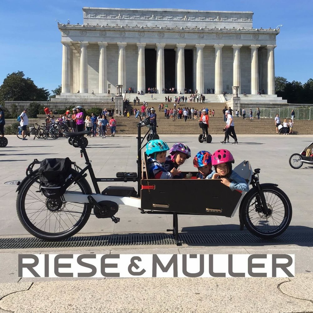 Another recent arrival - Reise & Muller's exceptionally easy to ride Packster - enough 4 kids!