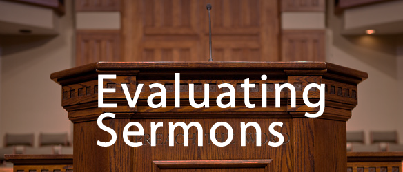 EvaluatingSermons