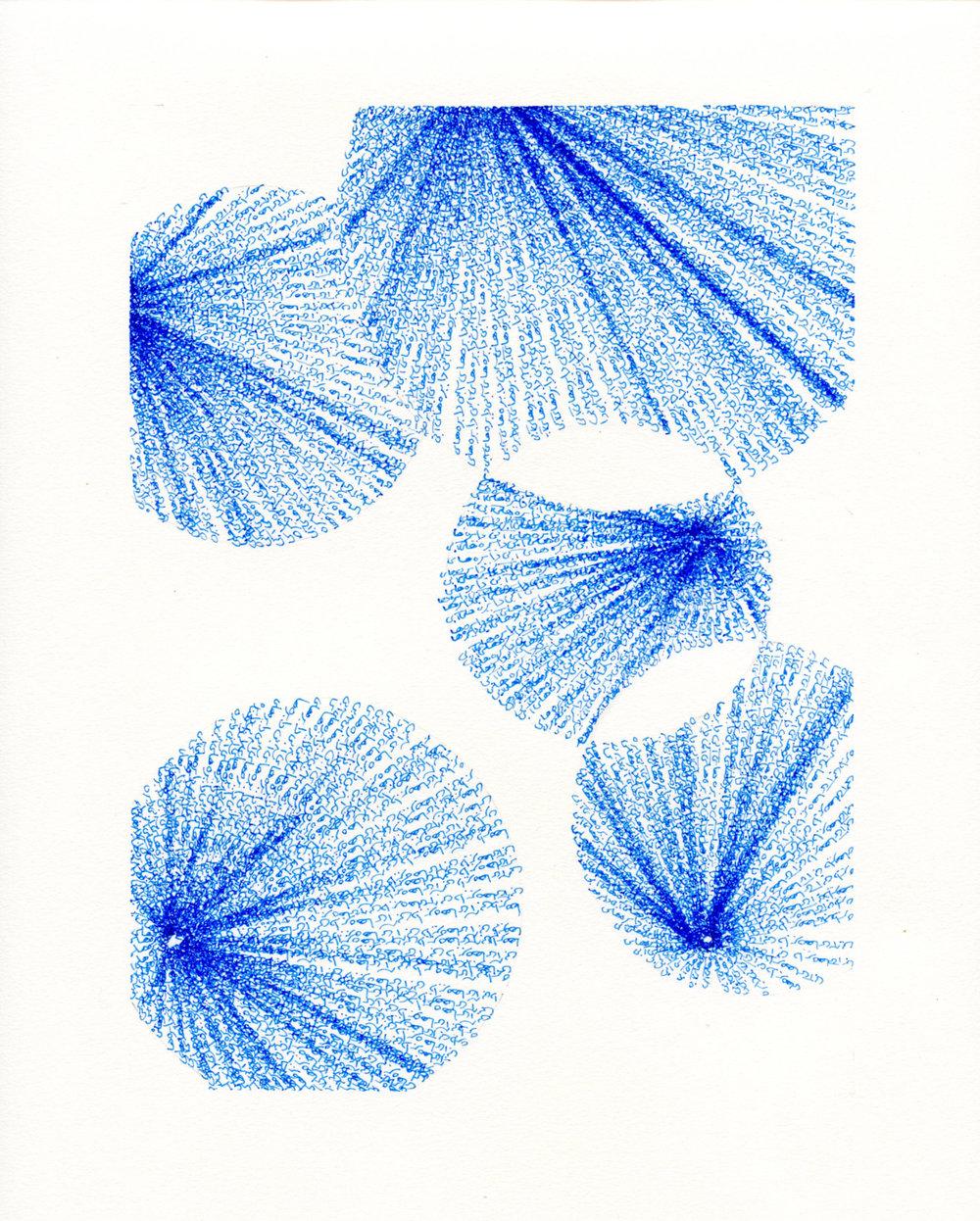 Blue circles, 2018